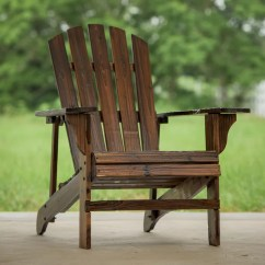 Adirondack Chair Wood Over Tables Elderly Leighcountry Solid Reviews Wayfair