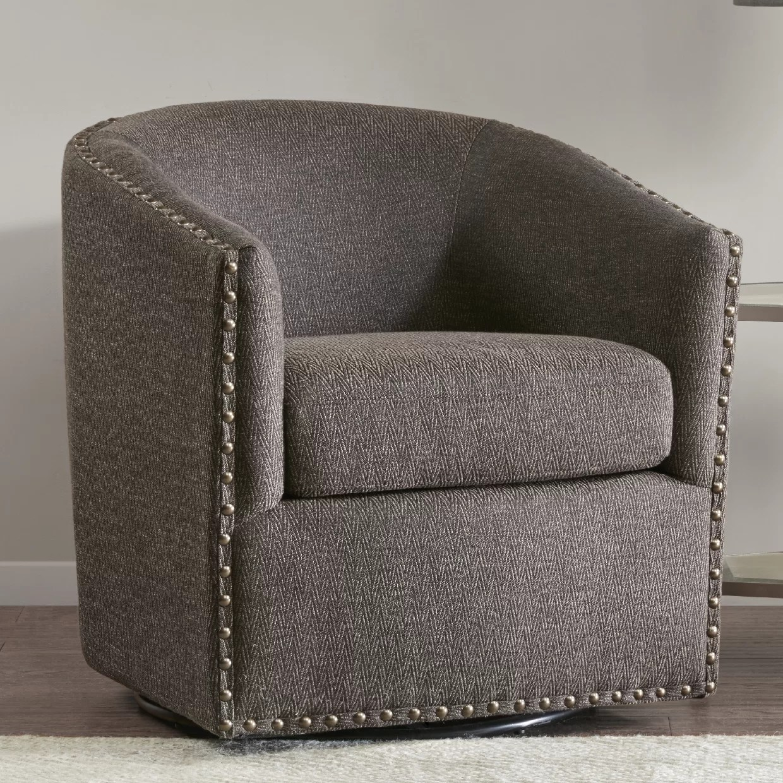 comfortable swivel chair bohemian hanging laverne armchair reviews birch lane