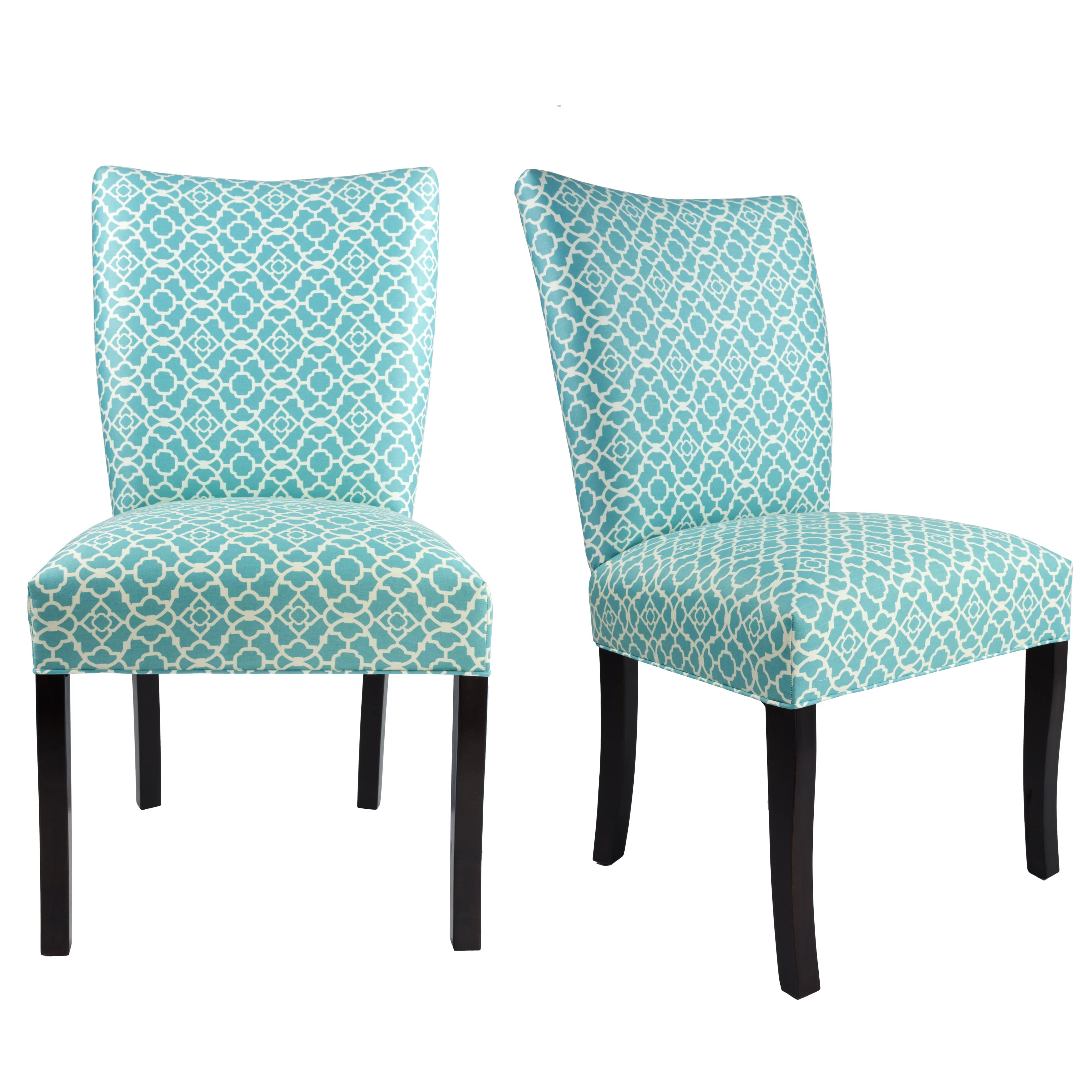 Aqua Dining Chairs Knowlson Upholstered Dining Chair