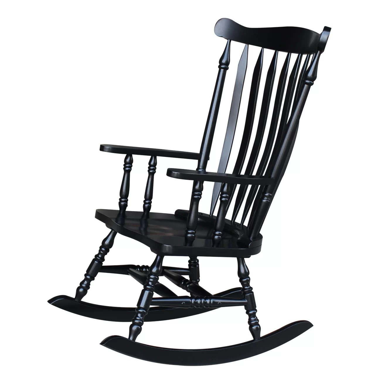 Rockin Chairs International Concepts Rocking Chair And Reviews Wayfair
