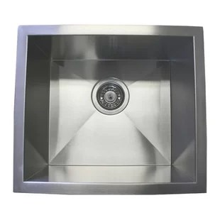 small kitchen sinks motion faucet wayfair 17 l x 15 w single bowl undermount sink