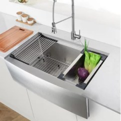 Kitchen Sink Farmhouse Green Furniture Sinks You Ll Love Wayfair Quickview