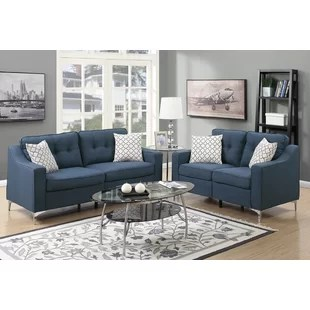 blue living room sets yellow grey and ideas you ll love wayfair quickview
