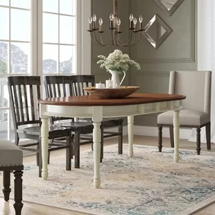 solid oak dining table and chairs antique dentist chair tables kitchen joss main quickview