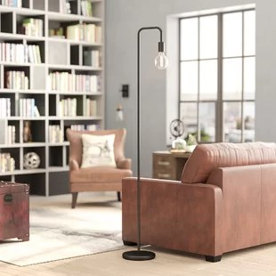 floor lamp living room images of latest designs lamps you ll love wayfair blairwood eleonor 70 arched