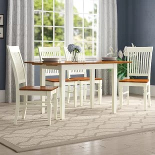 kitchen table nook built in wine racks for cabinets dinettes breakfast nooks you ll love wayfair holoman 5 piece extendable dining set