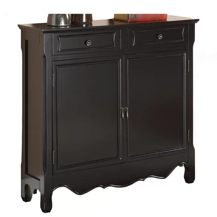 Dirk 2 Door Console Table Accent Cabinet  Reviews  Birch