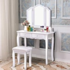Make Up Chair Lycra Covers Adelaide Bathroom Makeup Wayfair Quickview