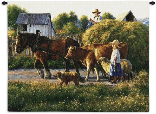 Pure Country Weavers Passing Parade Tapestry &