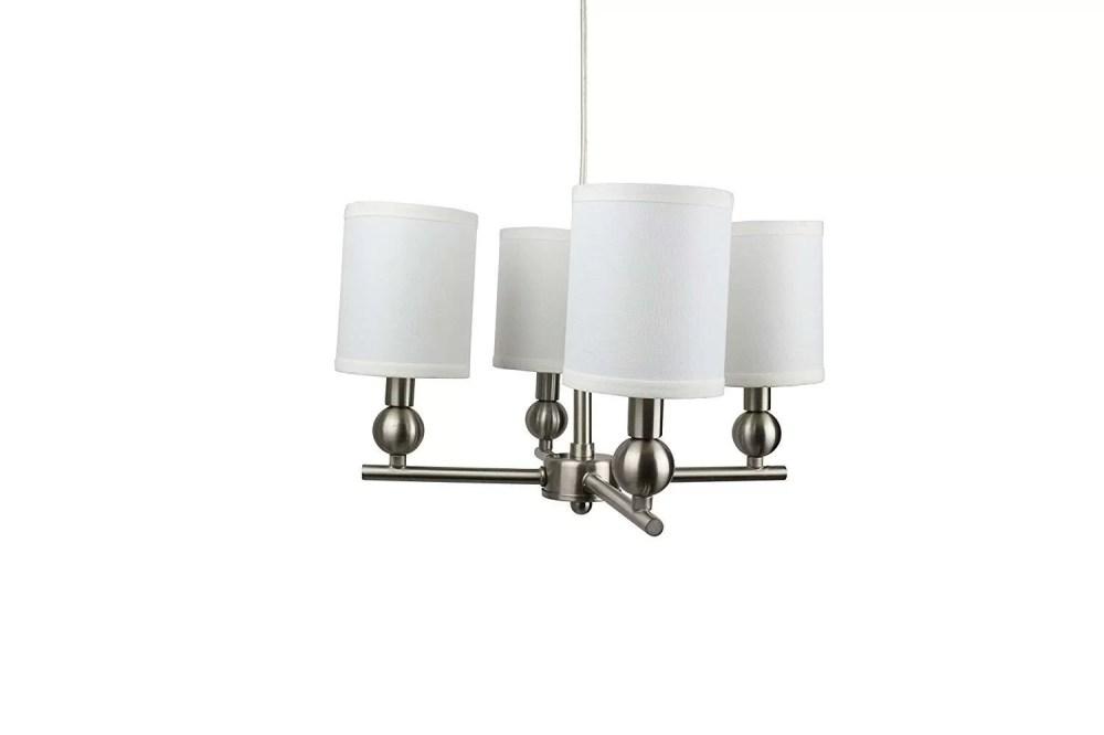 medium resolution of charlton home magdalen portable 4 light shaded chandelier wayfair terra 4 light crystal chandelier wayfair on basic electrical wiring
