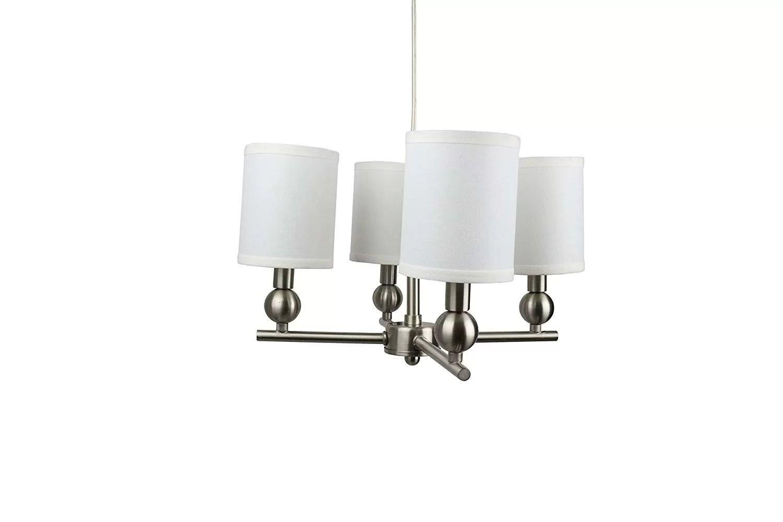 hight resolution of charlton home magdalen portable 4 light shaded chandelier wayfair terra 4 light crystal chandelier wayfair on basic electrical wiring