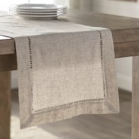 Laurel Foundry Modern Farmhouse Kitt Hemstitched Table