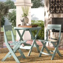 Winston Porter Rumble 3 Piece Bistro Set