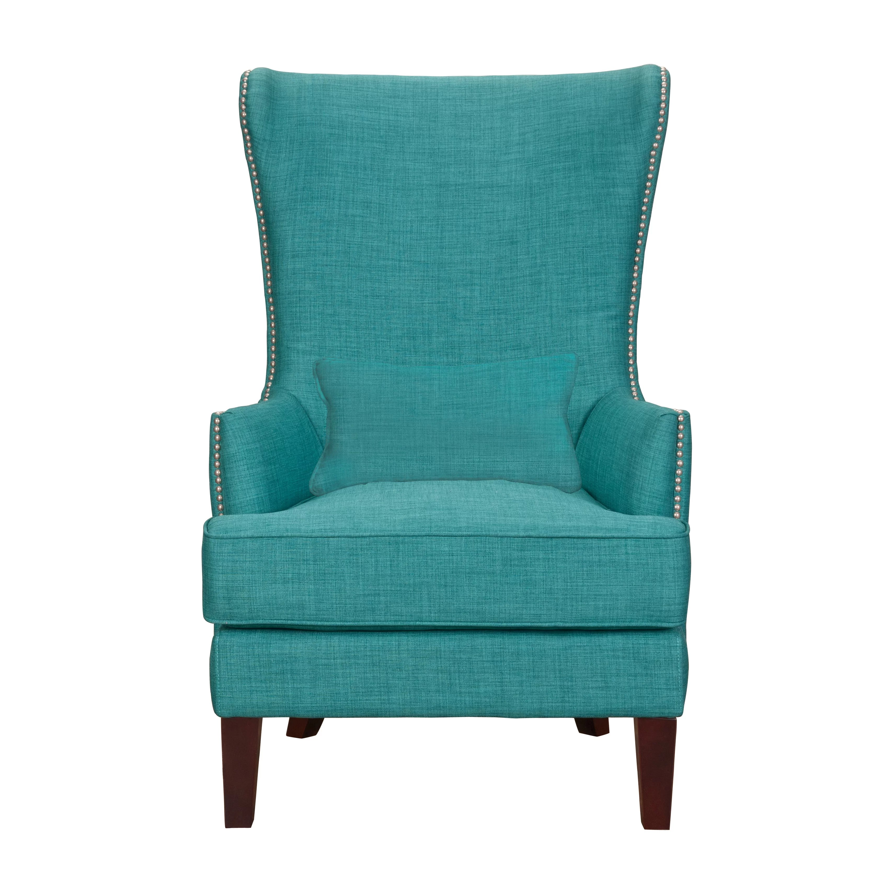 Teal Wingback Chair Cavender Wingback Chair