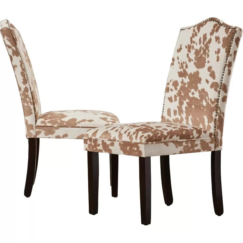 pompon nailhead side chair cover aliexpress healdsburg parsons reviews birch lane