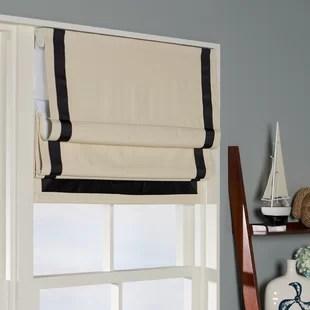 kitchen shades shaker style cabinet hardware curtains roman wayfair quickview