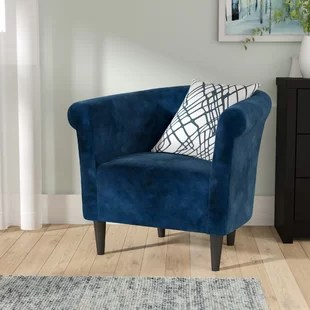 accent chair blue outdoor wicker patio cushions chairs you ll love wayfair quickview blackboard