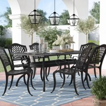 Castle Heights 7 Piece Outdoor Dining Set