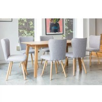 Norden Home Fairway Dining Set with 6 Chairs | Wayfair.co.uk