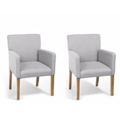 Dining Chair With Armrest Covers For Room Backs Chairs Wayfair Helotes Upholstered Set Of 2