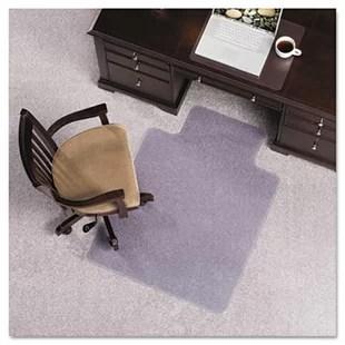 desk chair mat for carpet back covers christmas floortex cleartex high pile straight edge wayfair lip beveled