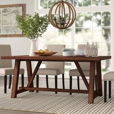 Rustic & Farmhouse Kitchen & Dining Tables You'll Love
