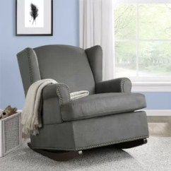 Nursery Rocking Chair Wayfair Silver Accent Wingback Save