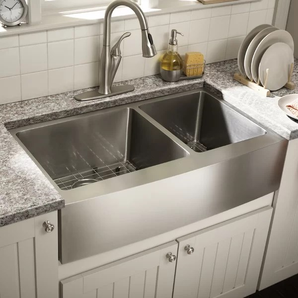 sinks kitchen small space you ll love wayfair