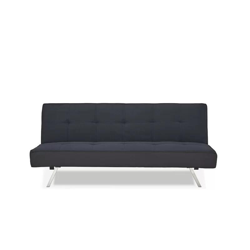 rialto sofa bed european leader lifestyle 3 seater clic clac wayfair co uk