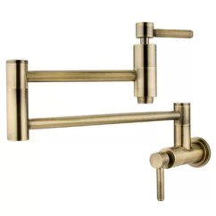 Brass Faucet Kitchen Cabinet Pulls And Handles Faucets You Ll Love Wayfair Ca Save