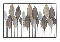 Cole & Grey Metal Leaf Wall Dcor & Reviews | Wayfair