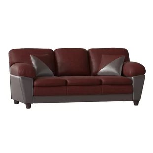 brooklyn bonded leather lounger chair and ottoman grey slipper sofa wayfair quickview