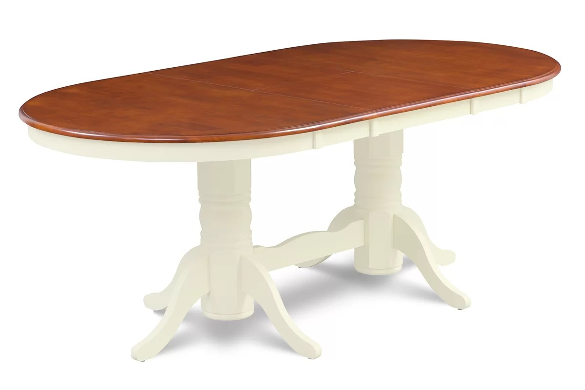 Darby Home Co Inwood OvalShaped Extendable Dining Table