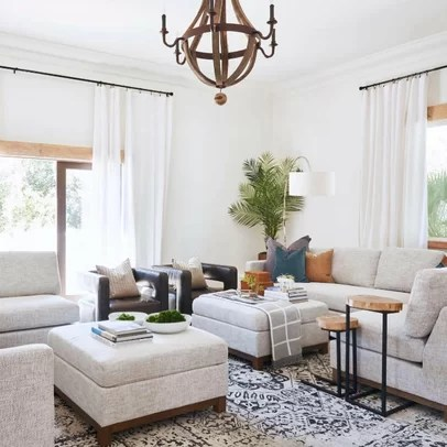 interior designer ideas for living rooms room with 2 couches facing each other design wayfair mid century modern