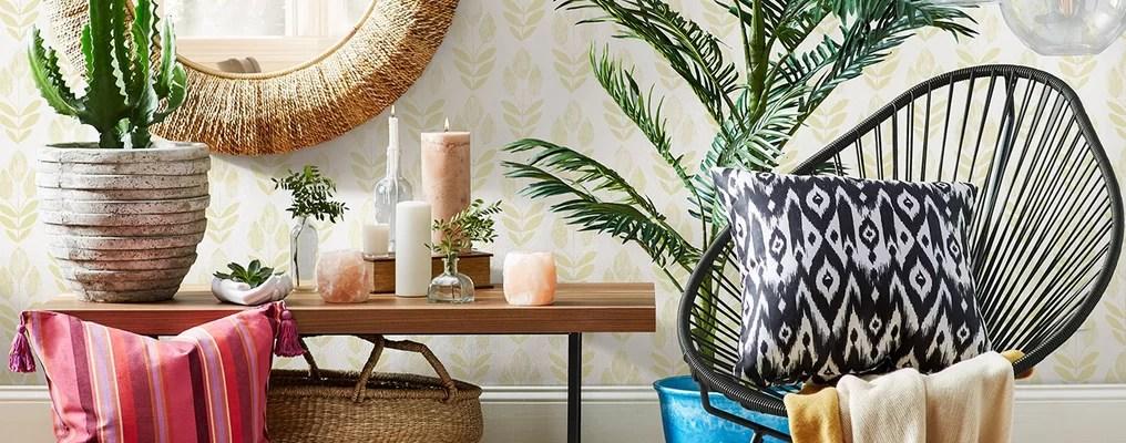 bohemian living room wall ideas new york bar furniture decor joss main