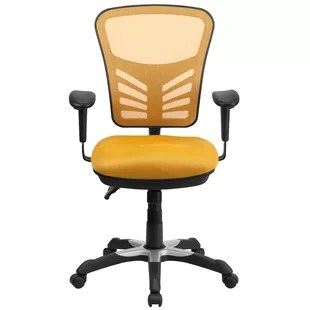 yellow office chair gaming computer chairs you ll love wayfair quickview