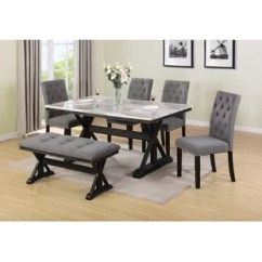 Kitchen Table With Bench And Chairs Lowes Floor Tile Dining Room Sets You Ll Love Wayfair Lona 6 Piece Set