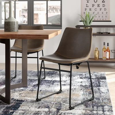 cheap upholstered chairs small kitchen table and trent austin design bamey chair reviews wayfair