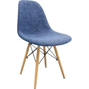 mid century modern plastic chairs revolving chair factory blue wayfair quickview