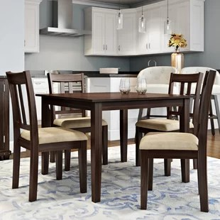 small dining chairs reclining chair with ottoman outdoor set for 4 wayfair primrose road 5 piece
