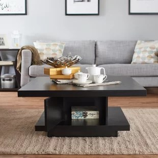 square living room tables modern rugs for south africa coffee you ll love wayfair quickview
