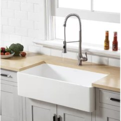 Farmers Kitchen Sink Rohl Faucets Farmhouse Sinks You Ll Love Wayfair Quickview