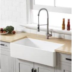 Kitchen Sink Farmhouse Custom Outdoor Kitchens Sinks You Ll Love Wayfair Quickview