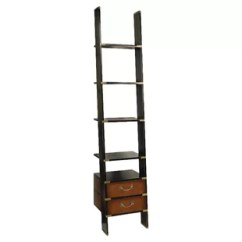 Library Chair Ladder Full Motion Flight Simulator Folding Wayfair Bookcase