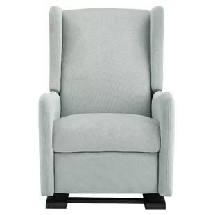 gray rocking chair for nursery pottery barn go anywhere rocker recliner wayfair quickview beige light