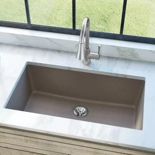 stone kitchen sink remodel checklist farmhouse sinks you ll love wayfair quickview