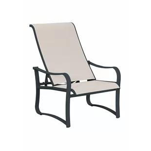 recliner patio chair swivel ebay outdoor wayfair shoreline sling