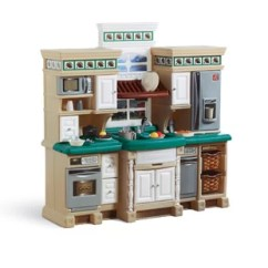 Toy Kitchen Sets Cabinets Design With Islands Play Accessories You Ll Love Wayfair Lifestyle Deluxe Set