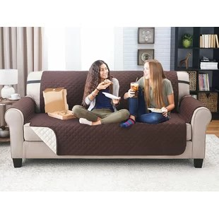 slipcovers for living room chair desk cheap shop covers and sofa you ll love wayfair quickview
