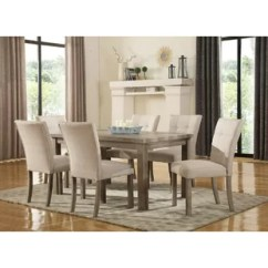 6 Chair Dining Set Track Chairs For Vets Wayfair Urban 7 Piece